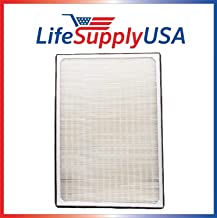 LifeSupplyUSA 4 Pack Aftermarket Replacement HEPA Filter Complete Set Compatible with IQAir Perfect 16 ID-2225 Whole House Air Purifier 3 Ton Model, Part # 202 11 30 02, Size 3