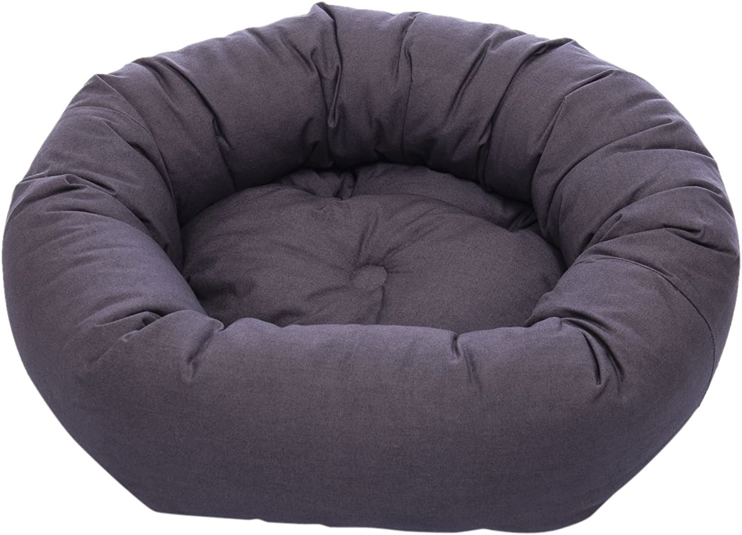 Dog Gone Smart Donut Bed Pebble Grey 69cm