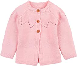 Spring Baby Girl Sweater Cardigans Autumn Newborn Knitted Jackets Toddler Infant Knitwear Coats