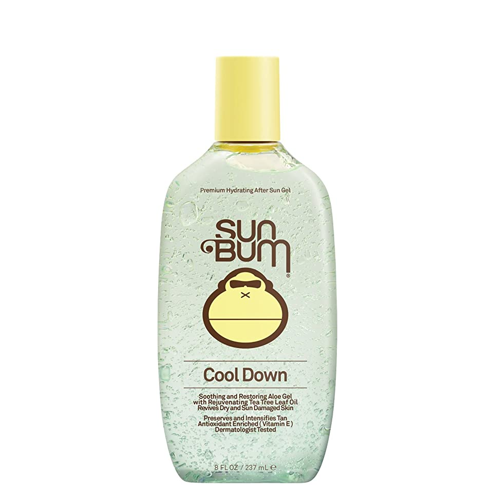 国民投票立場予測する日焼け後に Sun Bum Cool Down Hydrating After Sun Aloe Gel 8ozBottle