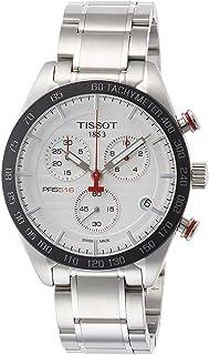 Tissot PRS 516 Quartz Chronograph T100.417.11.031.00 Silver/Silver Stainless Steel Analog Quartz Men's Watch