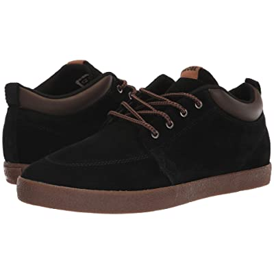 Globe GS Chukka (Black Suede/Tobacco) Men