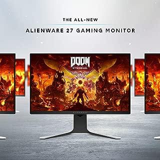 New Alienware AW2720HF 27 Inch FHD IPS LED Edgelight 2019 Monitor - Lunar Light (Full HD 1920 X 1080 240 Hz, AMD FreeSync)
