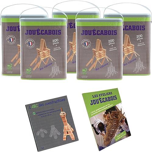 Jouecabois Kit 5 rrel + 1 rkstatt + ABC