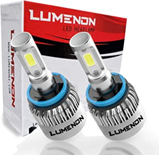Lumenon LED Headlight Kit Flip COB Chips-90W 18000LM 6000K Xenon White Light (H11 H9 H8)