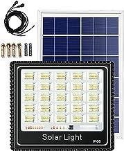 Projector op zonne-energie met bewegingsmelder, 200 W400 W600 W800 W, lampenkap, multireflector, zonnelamp, tuin, met afst...