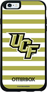 Fan Brander NCAA Phone case, Compatible with Apple iPhone 6 and iPhone 6s with OtterBox Symmetry Series with Stripes