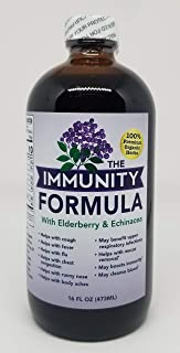 THE ELDERBERRY FORMULA WITH ECHINACEA - 16 FL OZ. (1 PACK)