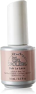 IBD Just Gel Soak Off Light Pink Nail Polish, Ooh La Lace