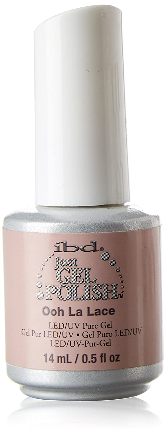 大使館斧タンクibd Just Gel Nail Polish - Ooh La Lace - 14ml / 0.5oz