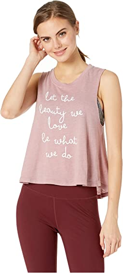 Beauty Crop Tank Top