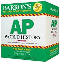 AP World History Flash Cards (Barron's Test Prep)