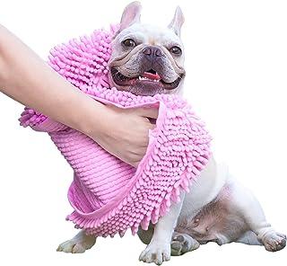 حوله سگ GoChes - حوله های سگ خشک جاذب فوق العاده جاذب با جیب های دستی ، حوله های حمام میکرو میکروفیبر برای خشک کردن سگها و گربه های کوچک ، متوسط ، بزرگ