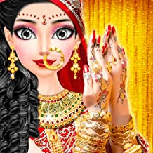 Royal North Indian Wedding Beauty Salon & Handart - Royal Makeover Wedding Makeup Salon Bridal - Beauty Makeover Girls Game