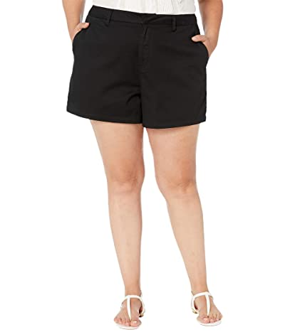 Volcom Plus Size Frochickie Shorts (Black) Women