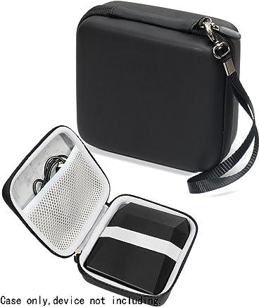 WGear 出品的 Fujifilm Instax SP-3 移动打印机保护套,用于电缆和印刷纸WG011790 compact Size 黑色