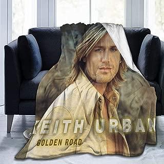 DenverHurst Keith Urban Elegant Casual Flannel Fleece Throw Blanket-50 x40