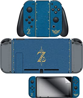 Controller Gear Nintendo Switch Skin & Screen Protector Set, Officially Licensed By Nintendo - The Legend of Zelda Breath of the Wild