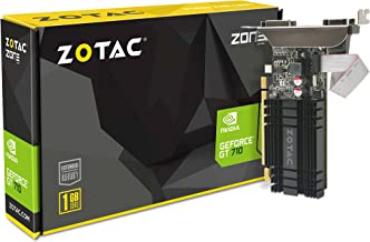 VGA ZOTAC GT 710 1GB DDR3 Zone Edition ZOTAC ZT-71301-20L, GEFORCE GT 710, 1 GB, GDDR3, 64 bit, 4096 X 2160 Pixeles, PCI Express 2.0