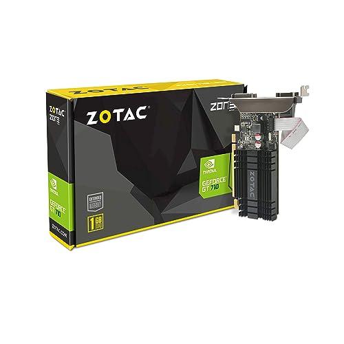 9629cade4ab ZOTAC GeForce GT 710 1GB DDR3 PCI-E2.0 DL-DVI VGA HDMI