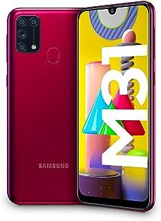 "Samsung Galaxy M31, Smartphone, Display 6.4"" Super AMOLED, 4 Fotocamere Posteriori, 64 GB Espandibili, RAM 6 GB, 4G, Dual ..."