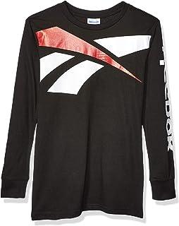 Reebok Boys' Long Sleeve Active T-Shirt