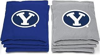 "AJJ Cornhole NCAA BYU Cougars Bags, 6"" x 6"", Gray"