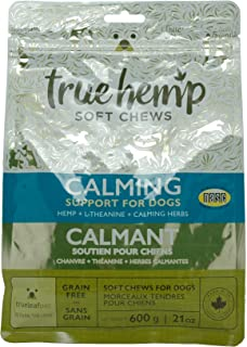 TrueLeafPet Supplement Chews   Calming Herbs Support for Dog   Net Weight 600g - 21 Ounces