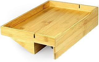 Bamboo Clip-On Bedside Shelf | M&W