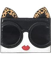 Alice + Olivia - Elle Cat Ears Card Case
