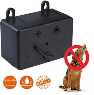 PetPawa Dog Silencer - Anti Barking Control Device, Ultrasonic Outdoor Repeller, Waterproof, Stop Barking, Ultra Sonic Bark Deterrents, No Bark Pro Tool, 100% Harmless for Pet