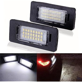 Gzcrdz 2x Auto Led Kennzeichen Led Licht Lampe 12 V Weiß 6000 Karat Für E39 E60 E82 E90 E92 E93 M3 E39 E60 E70 E60 E61 M5 E88 Auto