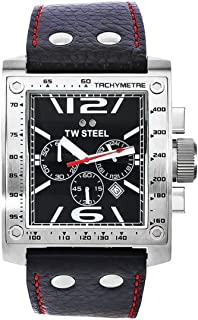 TW Steel Watch for Men, Leather, TW-116