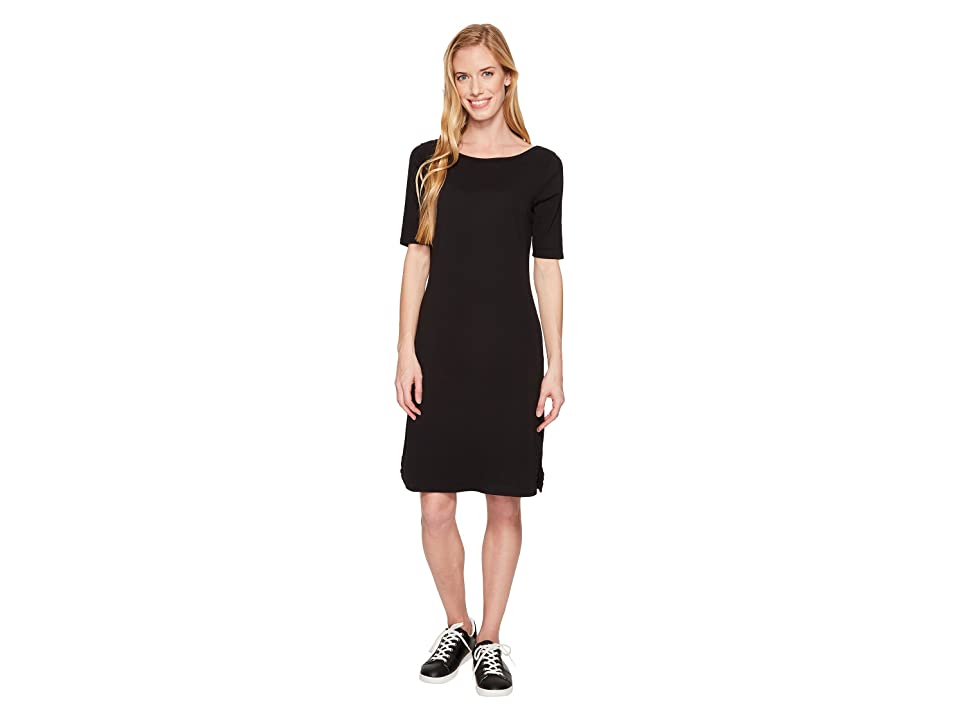 Royal Robbins Kickback to Front Dress (Jet Black) Women