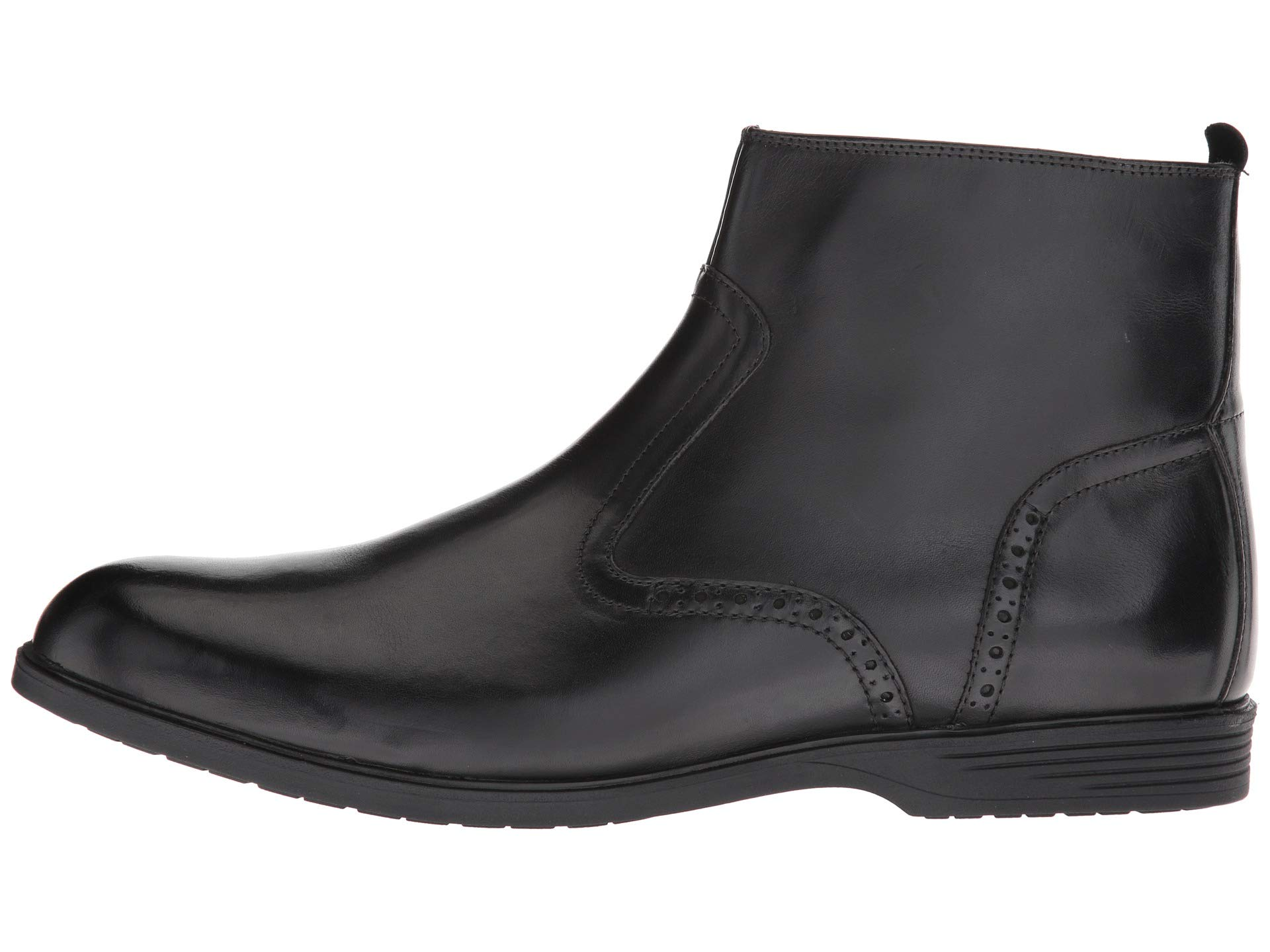 Hush Boot Zip Puppies Leather Shepsky Black rO8rxw