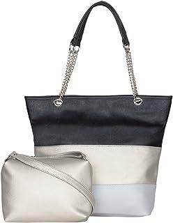 ADISA Women's Handbag With Sling bag (Set of 2)