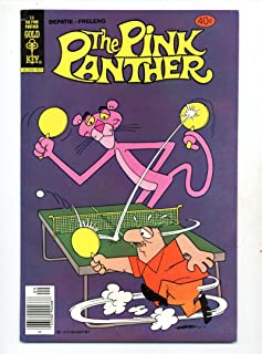 Pink Panther #68 Ping Pong Cover