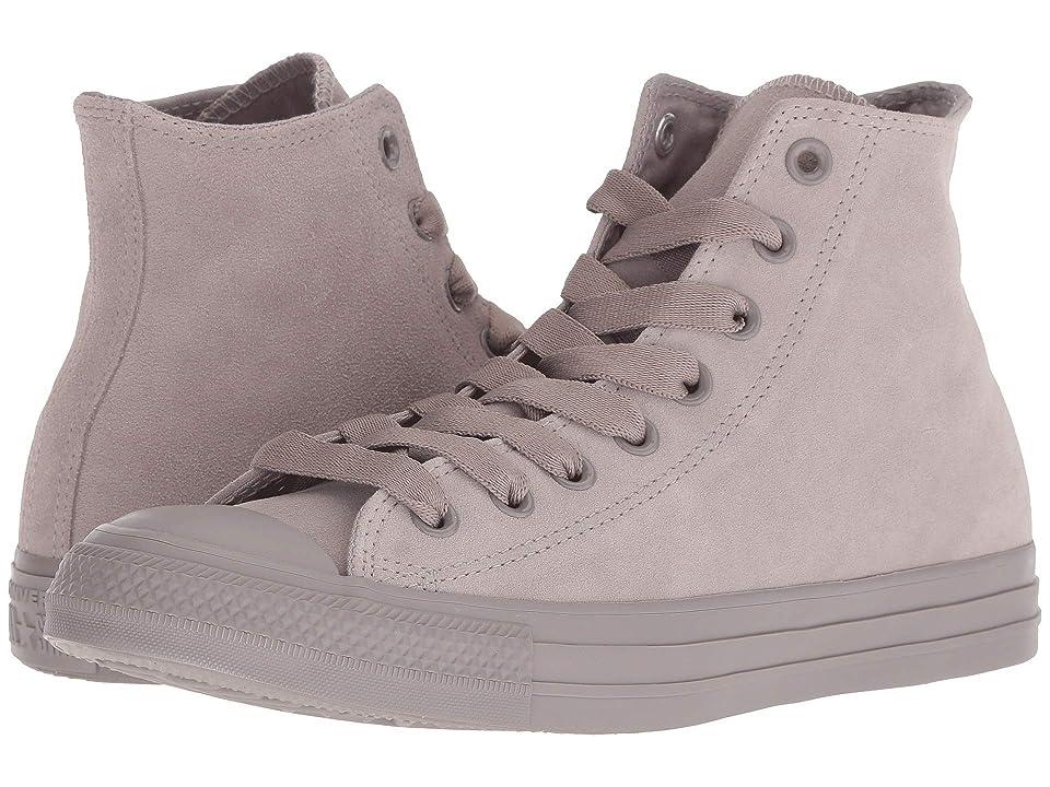 Converse Chuck Taylor All Star Tonal Suede Hi (Mercury Grey/Mercury Grey/Mercury Grey) Lace up casual Shoes