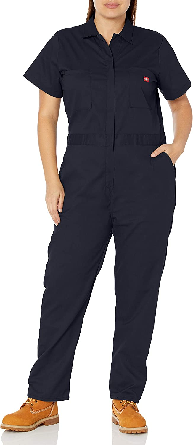 Dickies Women's Plus Size Short Sleeve Rapid rise OFFicial site Coverall Flex