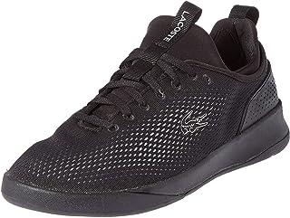 Lacoste Lt Spirit Sneaker For Men, Black, 13 US