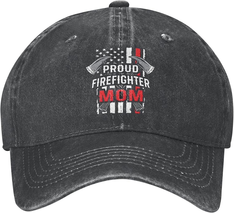 goincrond American Flag Firefighter Hat Cowboy Hat, Adjustable Cooling Baseball Cap Unisex Dad Hat for Men Women Outdoors