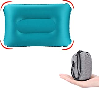 KUYOU Ultralight Inflatable Camping Travel Pillow, Compressible Compact, Comfortable,Inflatable,Ergonomic Inflating Pillow...