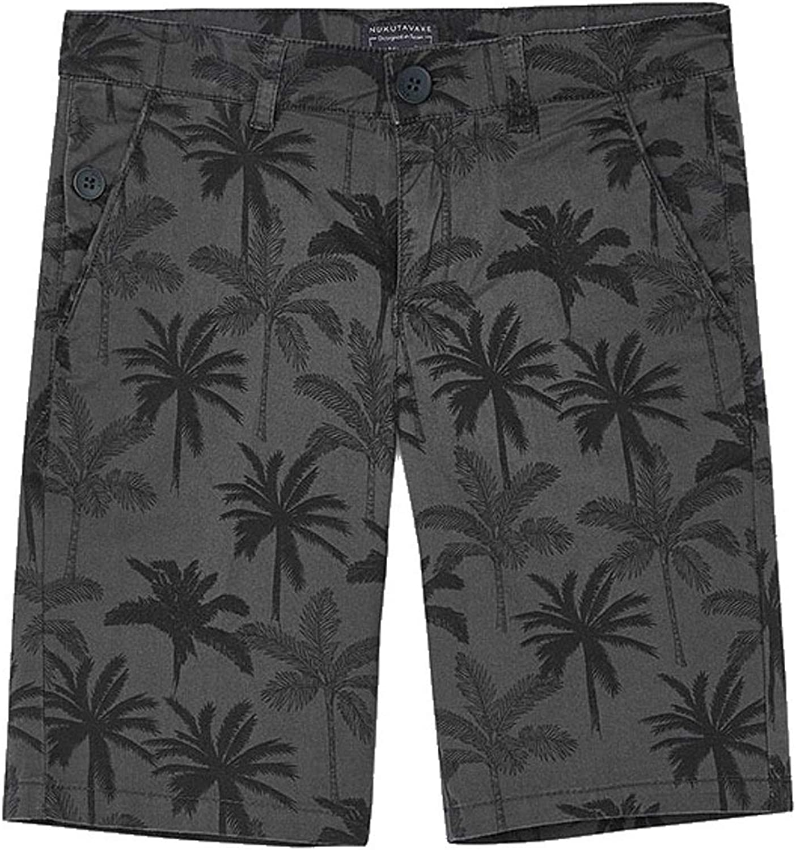 Mayoral - Printed Shorts for Boys - 6290, Caviar