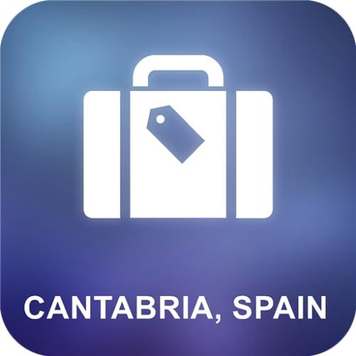 Cantabria, España Offline Mapa