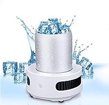 Hpjoobkle Coupe de réfrigération, Machine à glaçons Portables, Mini réfrigérateur électrique de Boisson d'été Bouilloire B...