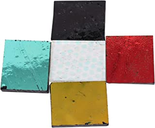 Dichromatic Glass, Mixed Millefiori Glass DIY Dichroic Glass Dichroic Glass Dichromatic for Artists for Fused Glass