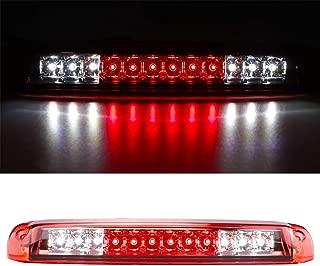 For 1999-2006 Chevrolet Silverado/GMC Sierra 1500 2500HD 3500 Third 3rd Brake Light Cargo Light High Mount Lamp Rear Tail Stop Light 5978318 (Red)