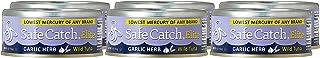 Safe Catch Elite Garlic Herb Wild Tuna, 6 x 5 oz Can