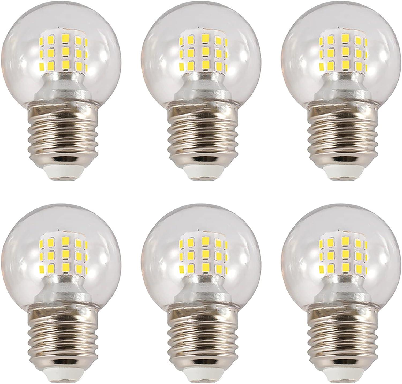 E26 Globe LED Light Bulb Ranking TOP10 San Diego Mall 7W Replac Mini Lamp 60W G45