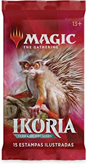 Magic The Gathering Ikoria Terra de Colossos, Draft Booster, Português BR, 1 Unidade